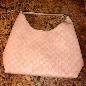 Limited edition Pink Gucci Hobo Tote Bag